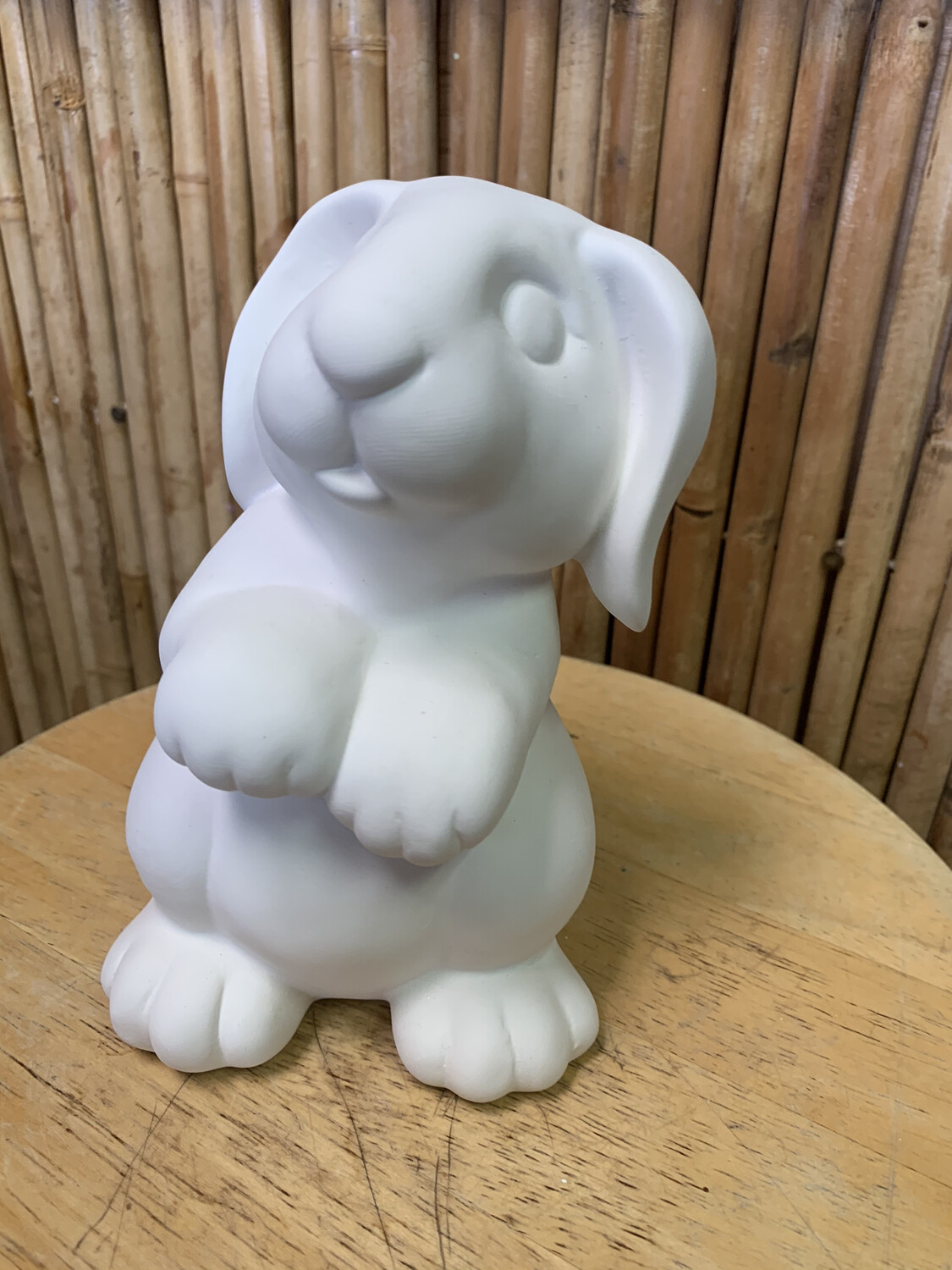 Paint Your Own Pottery - Ceramic   Bunny Rabbit Bank Painting Kit