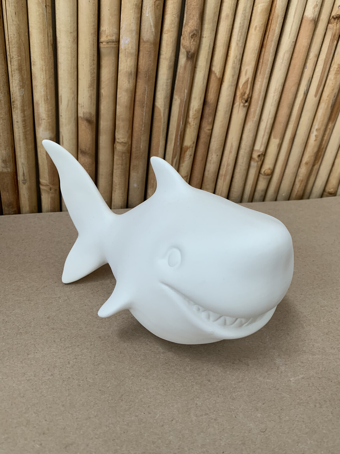 Paint Your Own Pottery - Ceramic   Shark Bank Painting Kit
