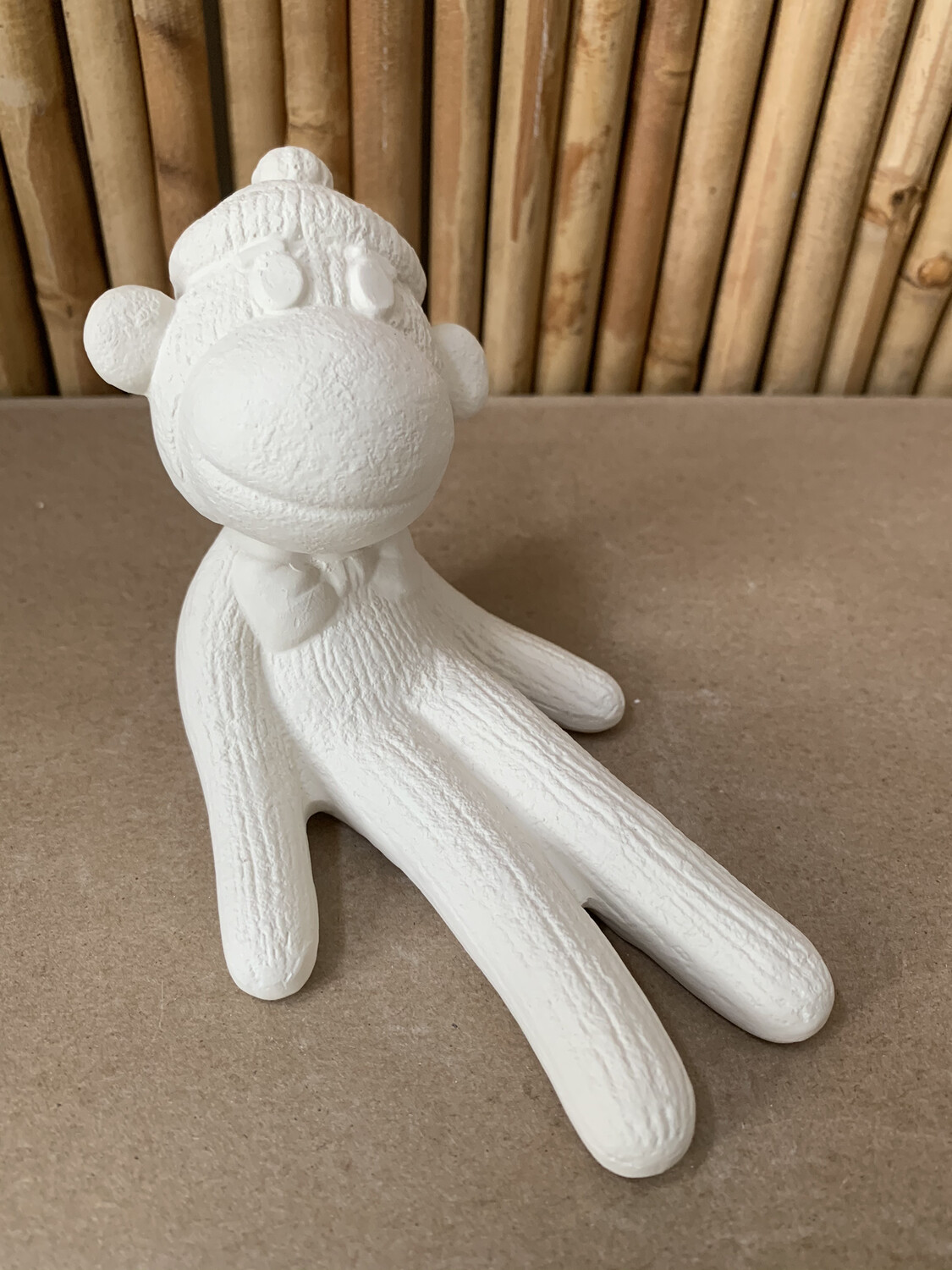 Paint Your Own Pottery - Ceramic   Sock Monkey Figurine Painting Kit