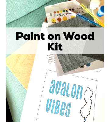 AVALON VIBES Paint Your Own Wood Sign