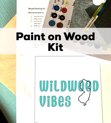 WILDWOOD VIBES Paint Your Own Wood Sign