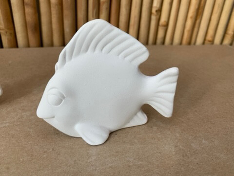 Paint Your Own Pottery - Ceramic   Fish Figurine Painting Kit
