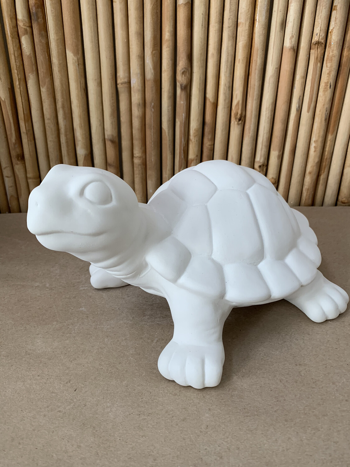 Paint Your Own Pottery - Ceramic   Large Garden Turtle Figurine Painting Kit