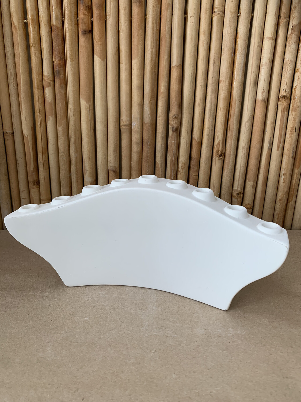 Paint Your Own Pottery - Ceramic   Modern Menorah Painting Kit