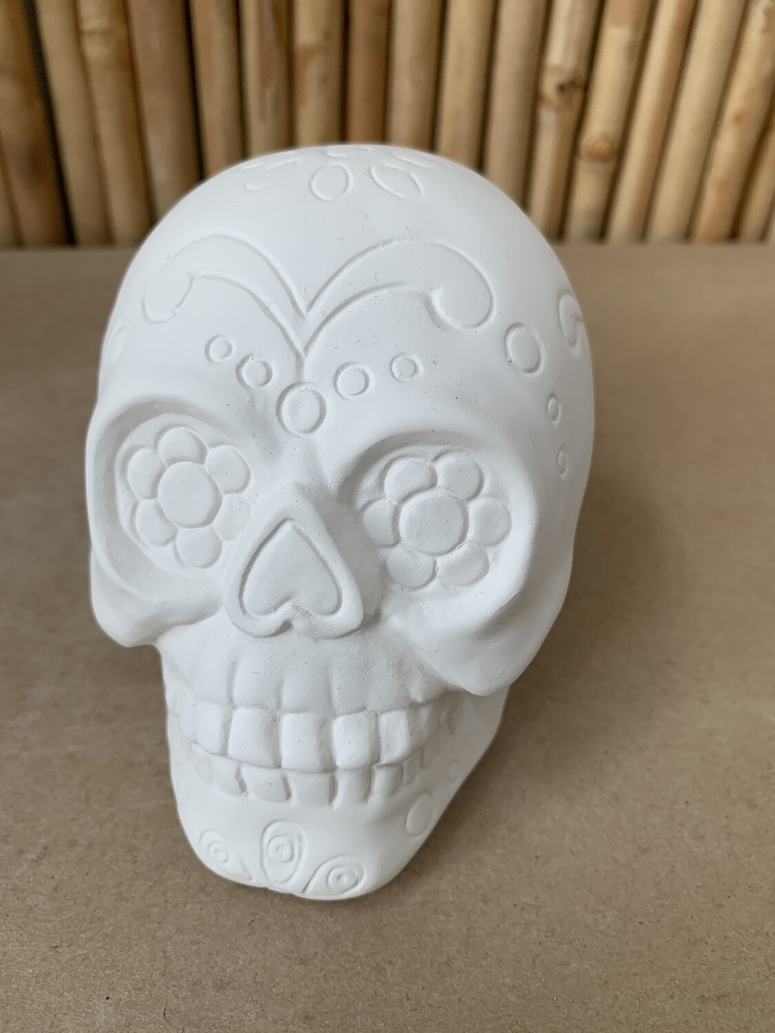 Paint Your Own Pottery - Ceramic   Sugar Skull Painting Kit