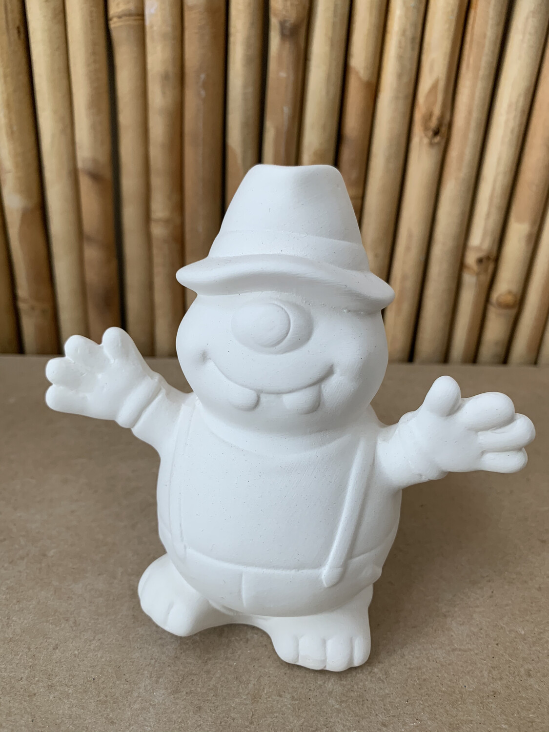 Paint Your Own Pottery - Ceramic   Jazz Hands McGee Figurine Painting Kit