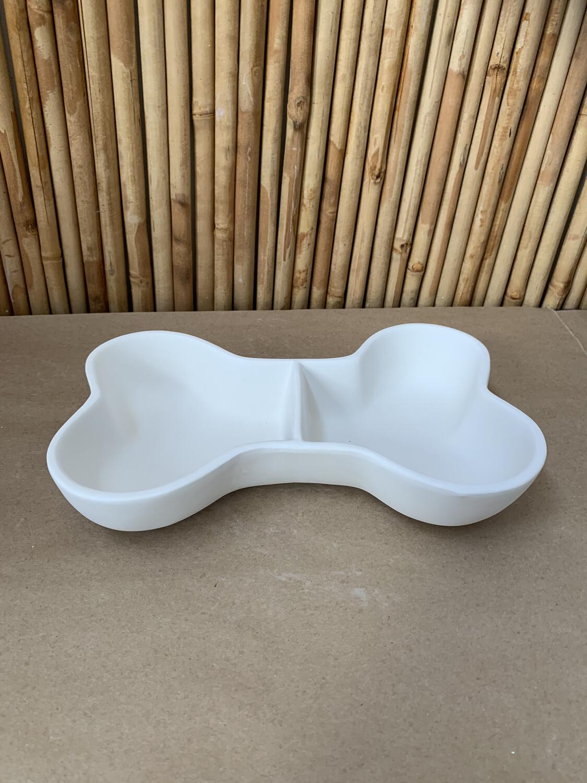 Paint Your Own Pottery - Ceramic   Dog Bone Bowl Painting Kit