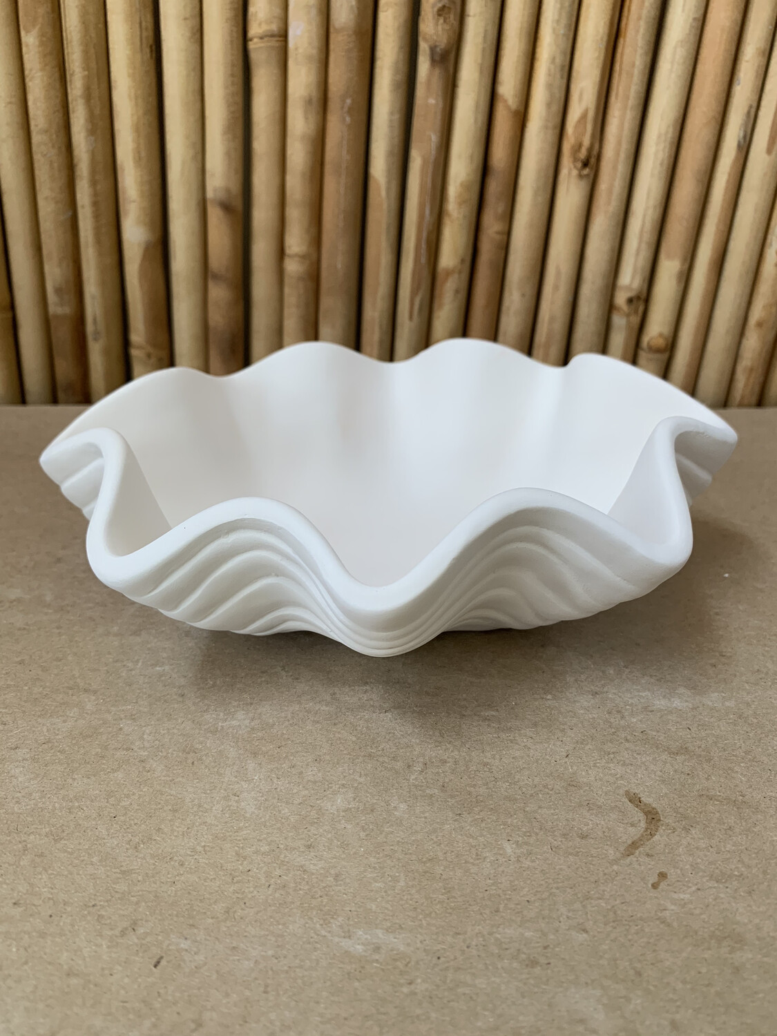 Paint Your Own Pottery - Ceramic   Clam Bowl Painting Kit