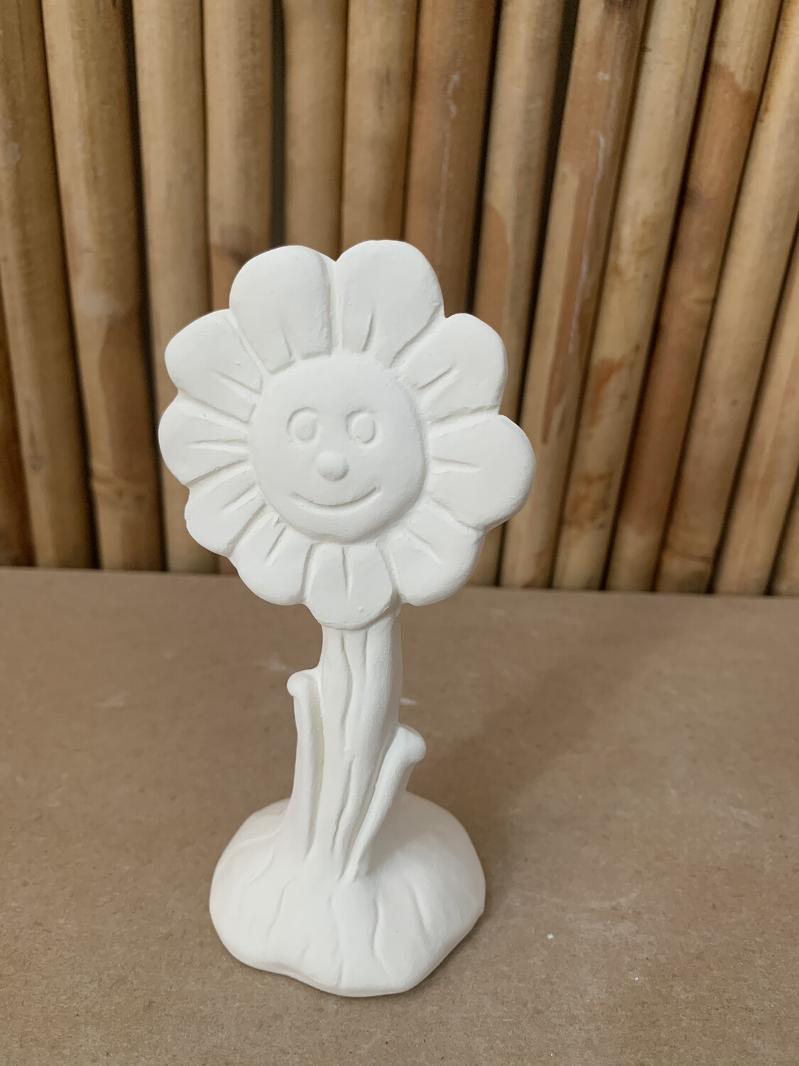 Paint Your Own Pottery - Ceramic Small Flower Painting Kit