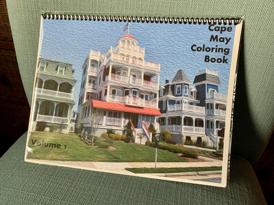 Cape May NJ Adult Coloring Book Volume 1