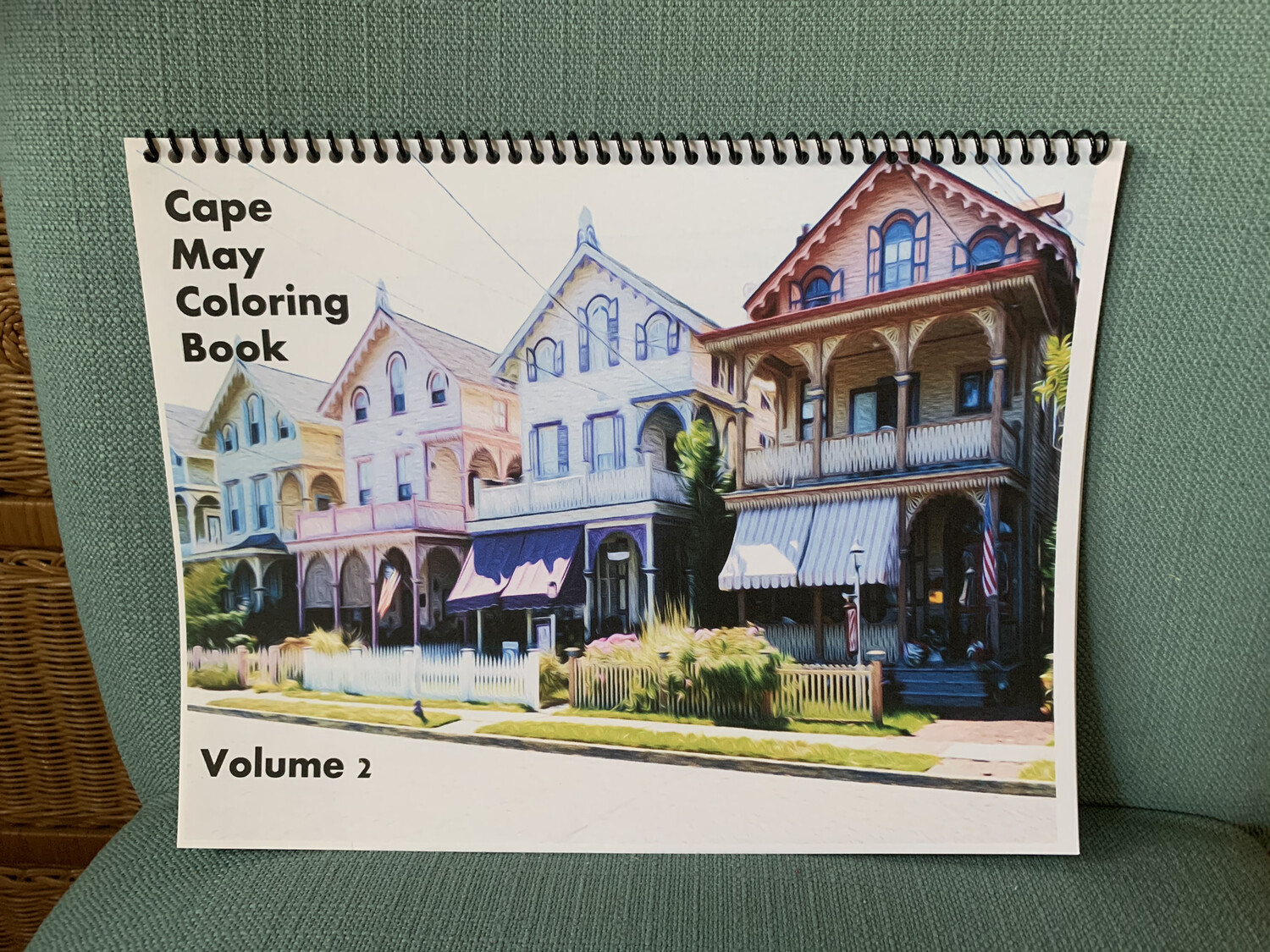 Cape May NJ Adult Coloring Book Volume 2