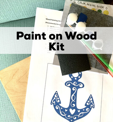 Birthday Party Packages - Wood Painting For Teens And Adults - Minimum Of 6 Guests