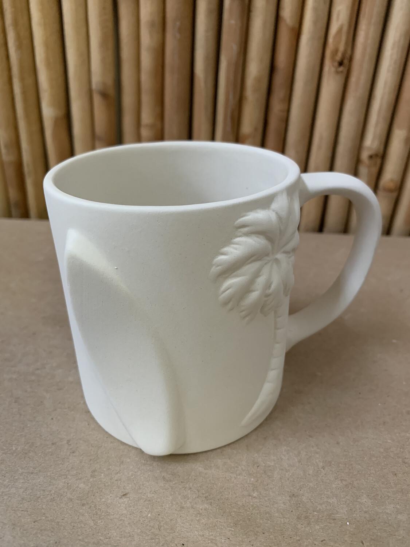 Paint Your Own Pottery - Ceramic   Beach Mug Painting Kit