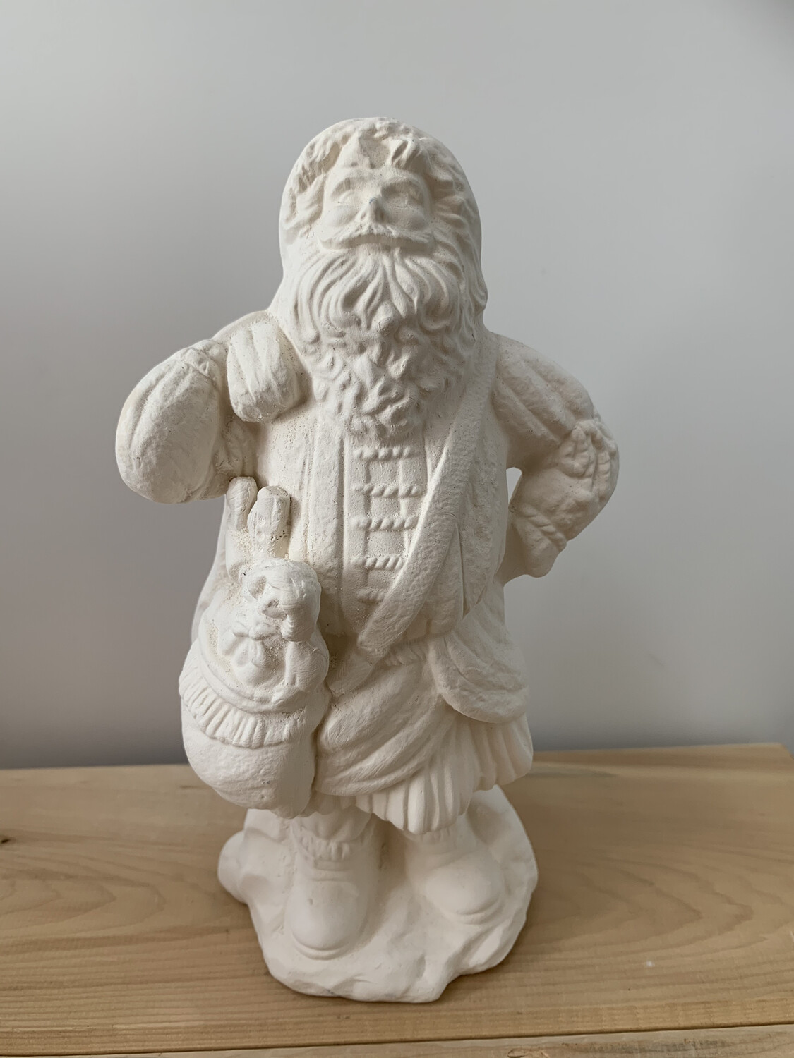 Paint Your Own Pottery - Ceramic   Santa Figurine Painting Kit