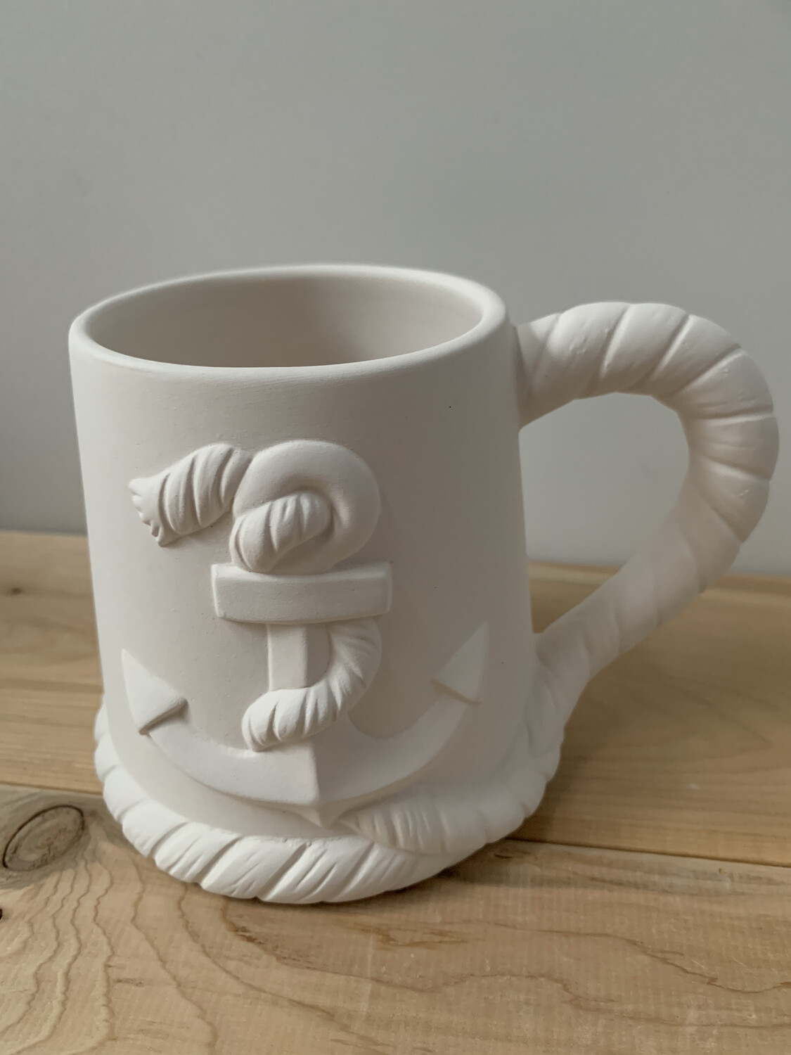 Paint Your Own Pottery - Ceramic  Anchor Mug Painting Kit