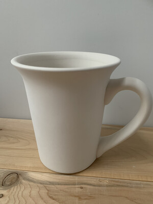 Paint Your Own Pottery - Ceramic   Flared Mug Painting Kit