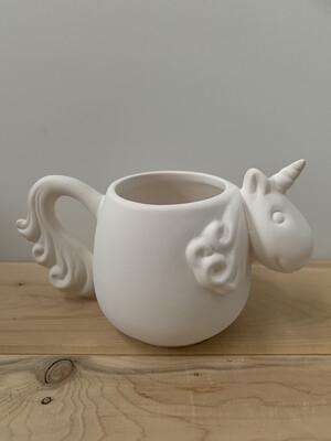 Paint Your Own Pottery - Ceramic   Unicorn Mug Painting Kit