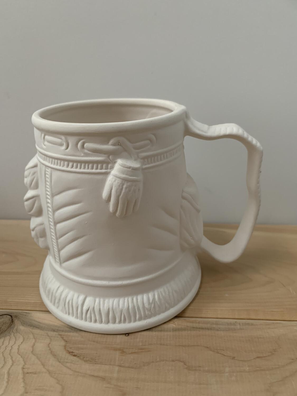 Paint Your Own Pottery - Ceramic   Golf Bag Mug Painting Kit
