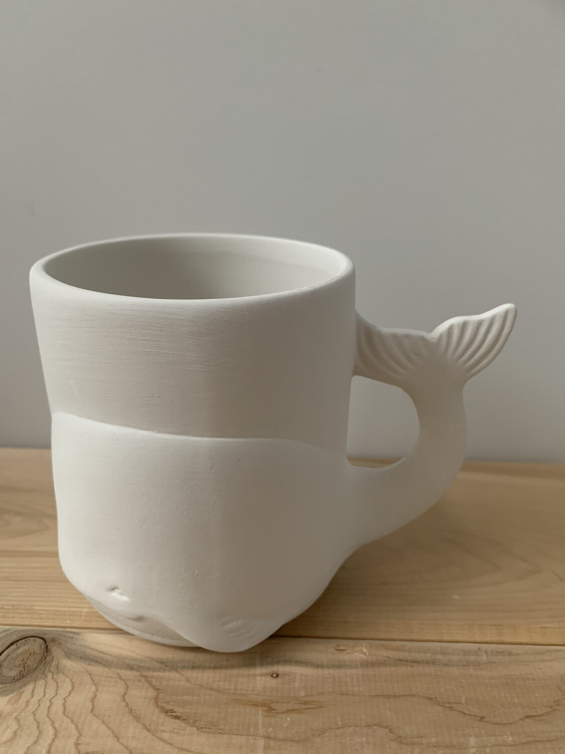 Paint Your Own Pottery - Ceramic   Whale Mug Painting Kit