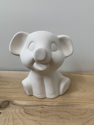 Paint Your Own Pottery - Ceramic   Elephant Figurine Painting Kit