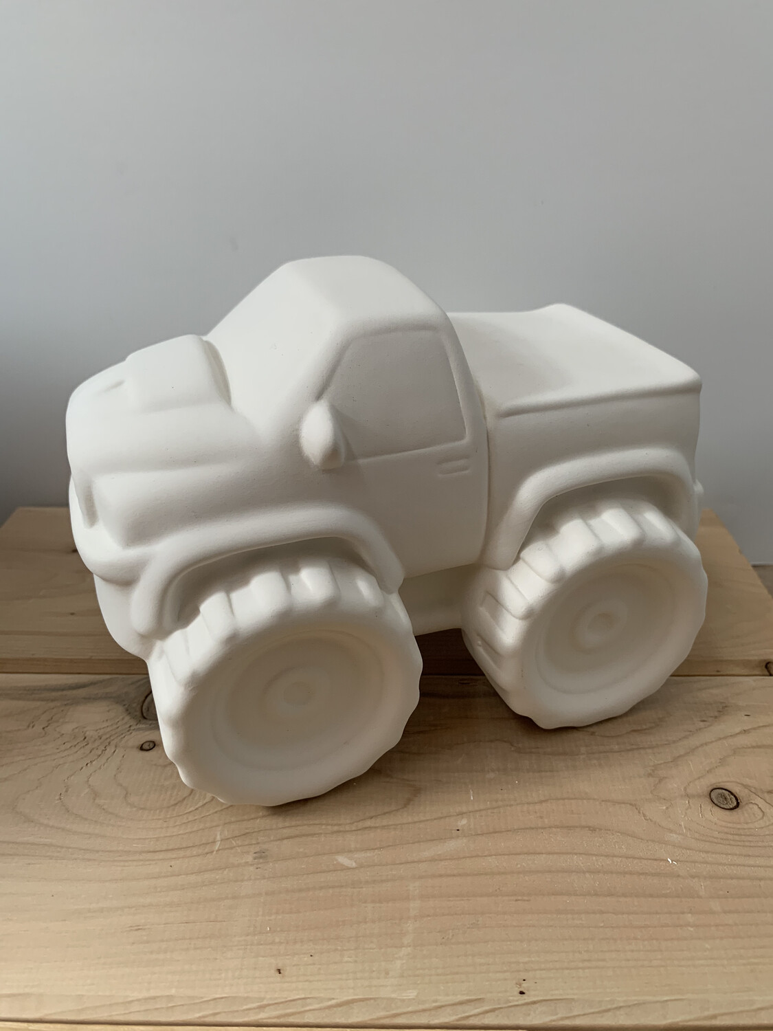 Paint Your Own Pottery - Ceramic   Monster Truck Bank Painting Kit