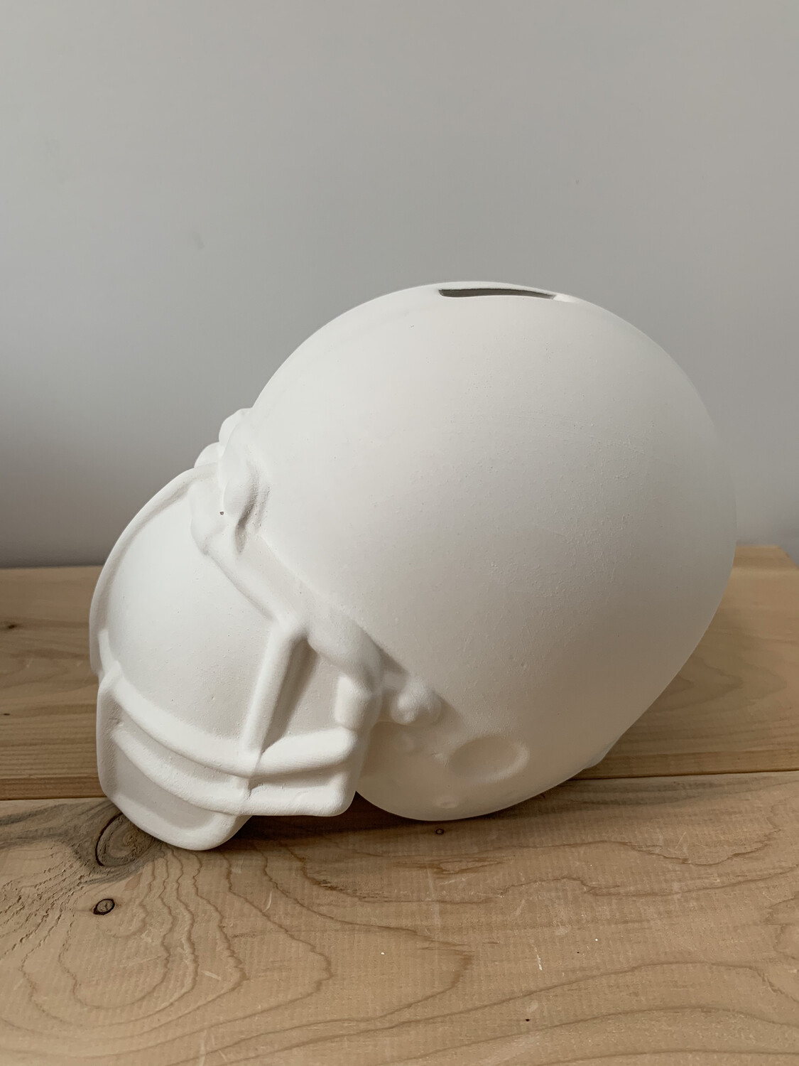 Paint Your Own Pottery - Ceramic   Football Helmet Bank Painting Kit