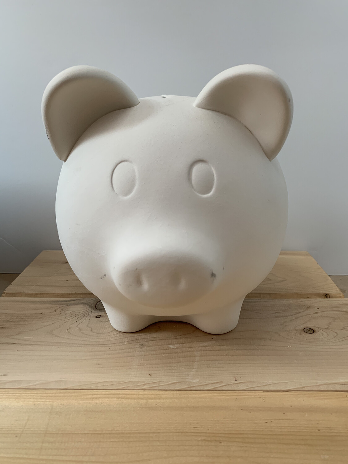 Paint Your Own Pottery - Ceramic   Piggy Bank Painting Kit