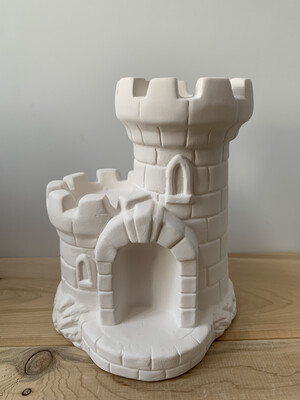 Paint Your Own Pottery - Ceramic   Sand Castle Bank Painting Kit
