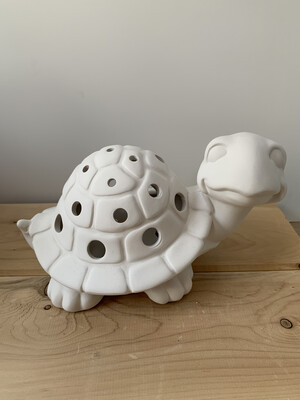 Paint Your Own Pottery - Ceramic   Turtle Luminary Lantern Painting Kit