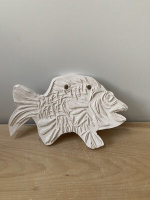 Paint Your Own Pottery - Ceramic  Fish Painting Kit