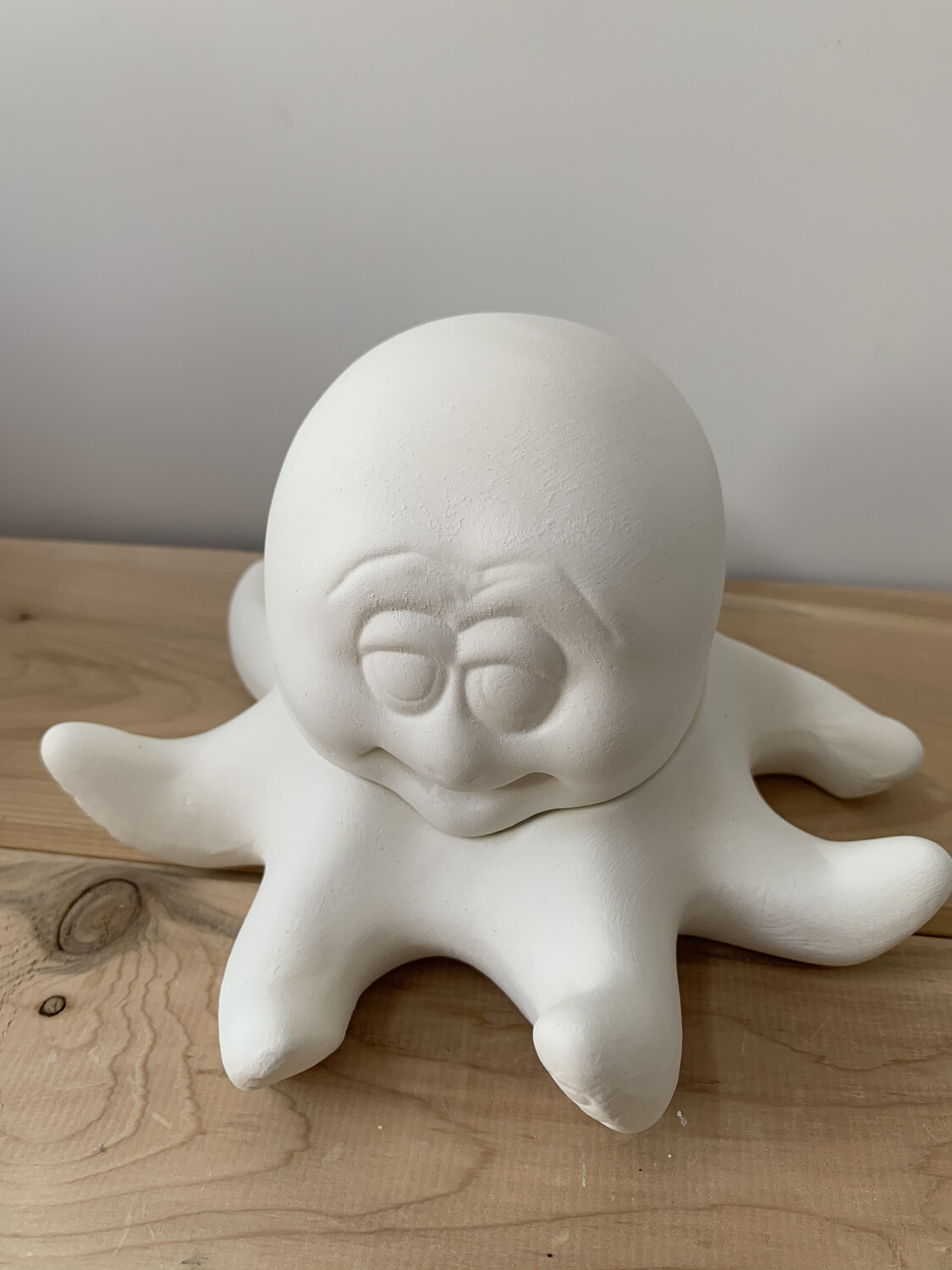 Paint Your Own Pottery - Ceramic   Octopus Box Painting Kit