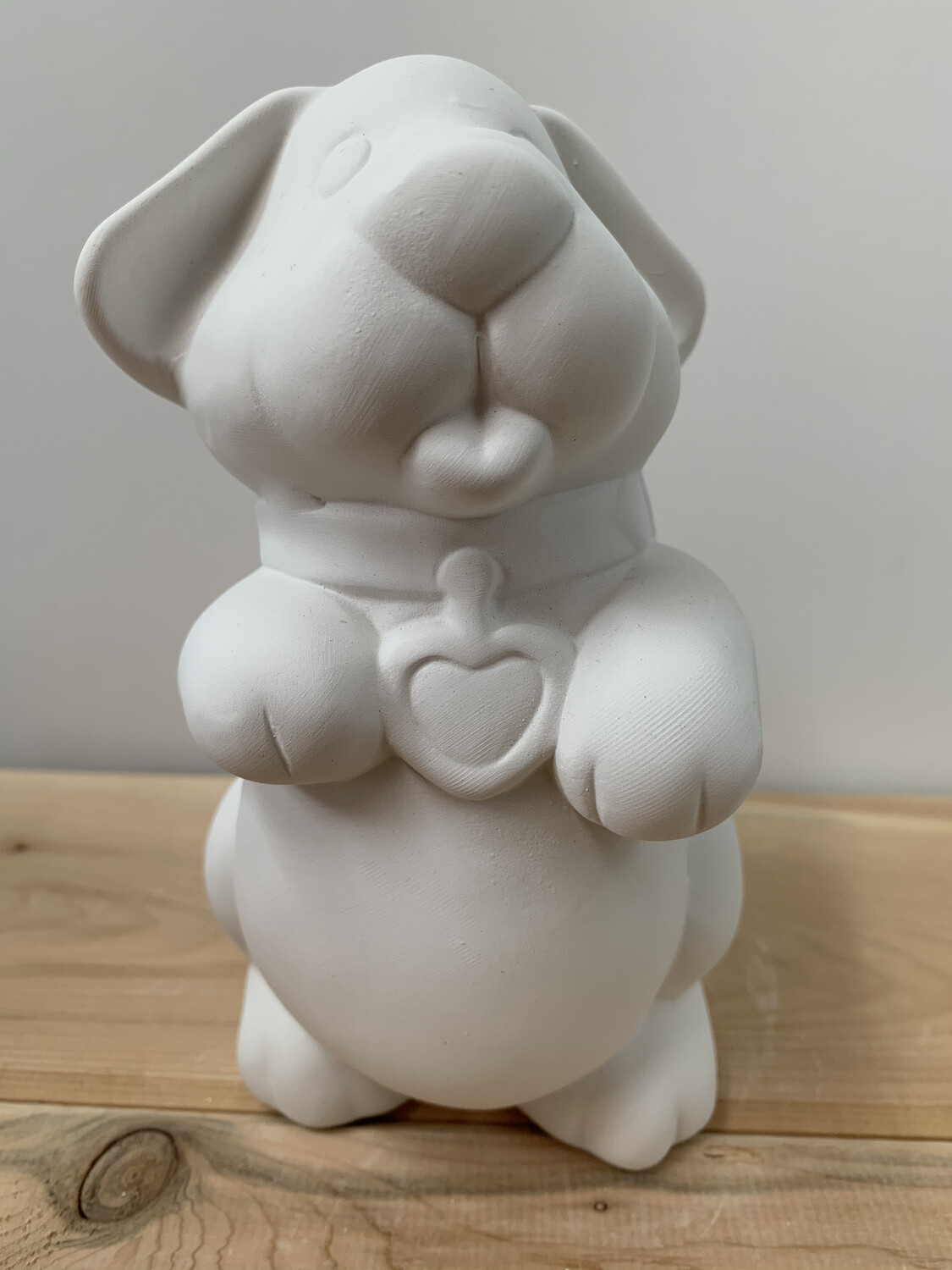 Paint Your Own Pottery - Ceramic   Puppy Dog Bank Painting Kit