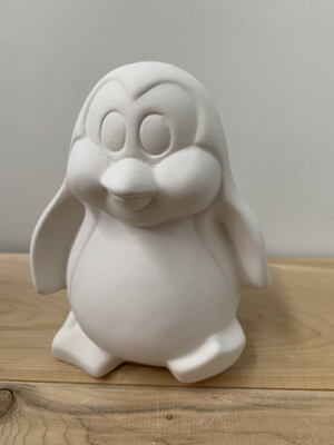 Paint Your Own Pottery - Ceramic   Penguin Figurine Painting Kit