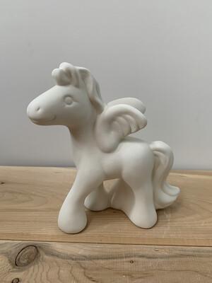 Paint Your Own Pottery - Ceramic   Pegasus Unicorn Figurine Painting Kit