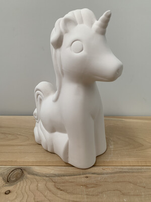 Paint Your Own Pottery - Ceramic   Unicorn Figurine Painting Kit