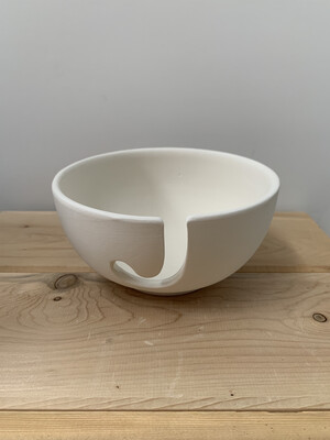 Paint Your Own Pottery - Ceramic   Yarn Bowl Painting Kit