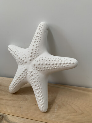 Paint Your Own Pottery - Ceramic   Hanging Starfish Painting Kit