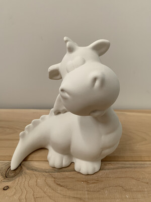 Paint Your Own Pottery - Ceramic   Dragon Figurine Painting Kit