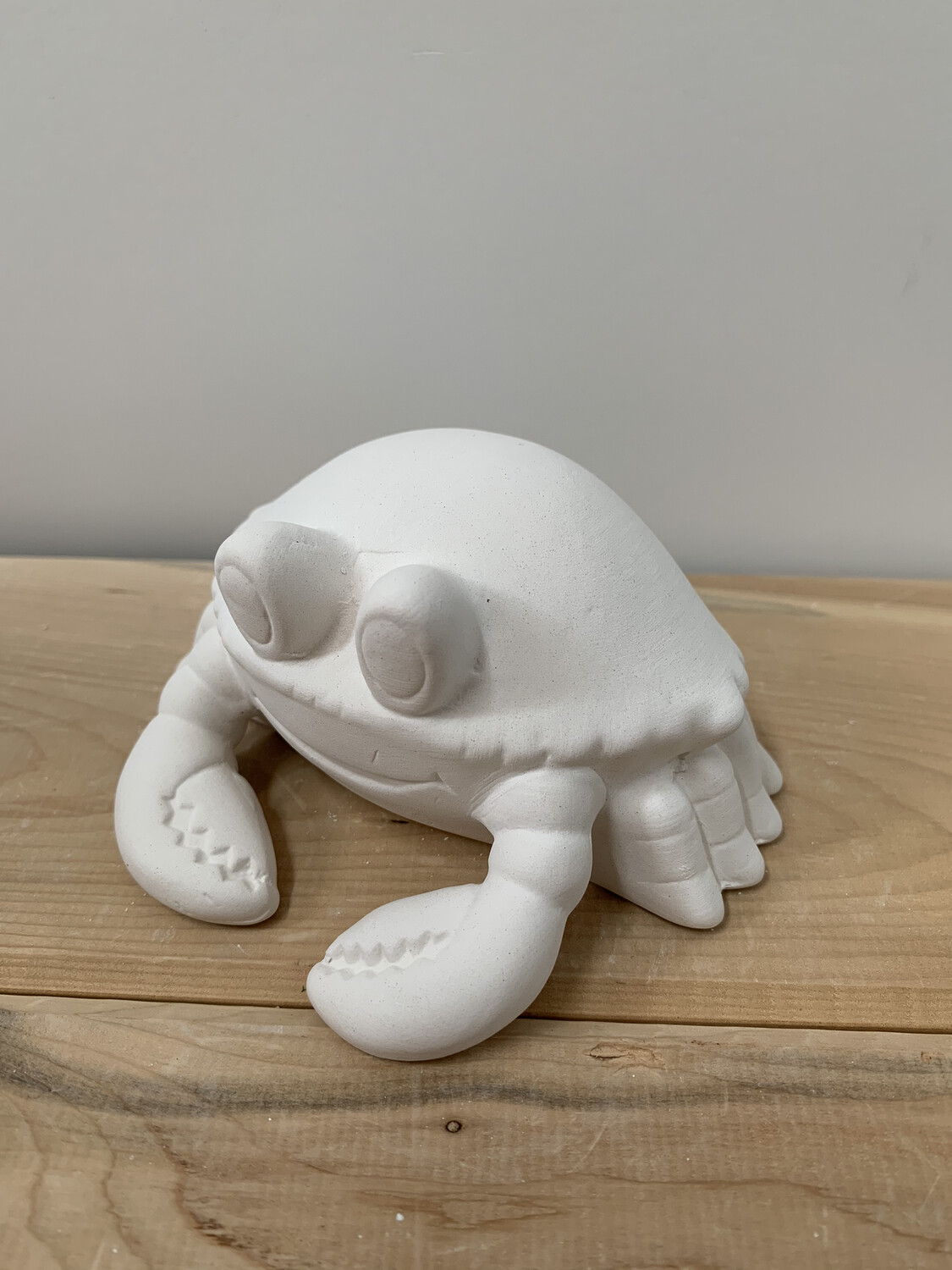 Paint Your Own Pottery - Ceramic   Crab Figurine Painting Kit