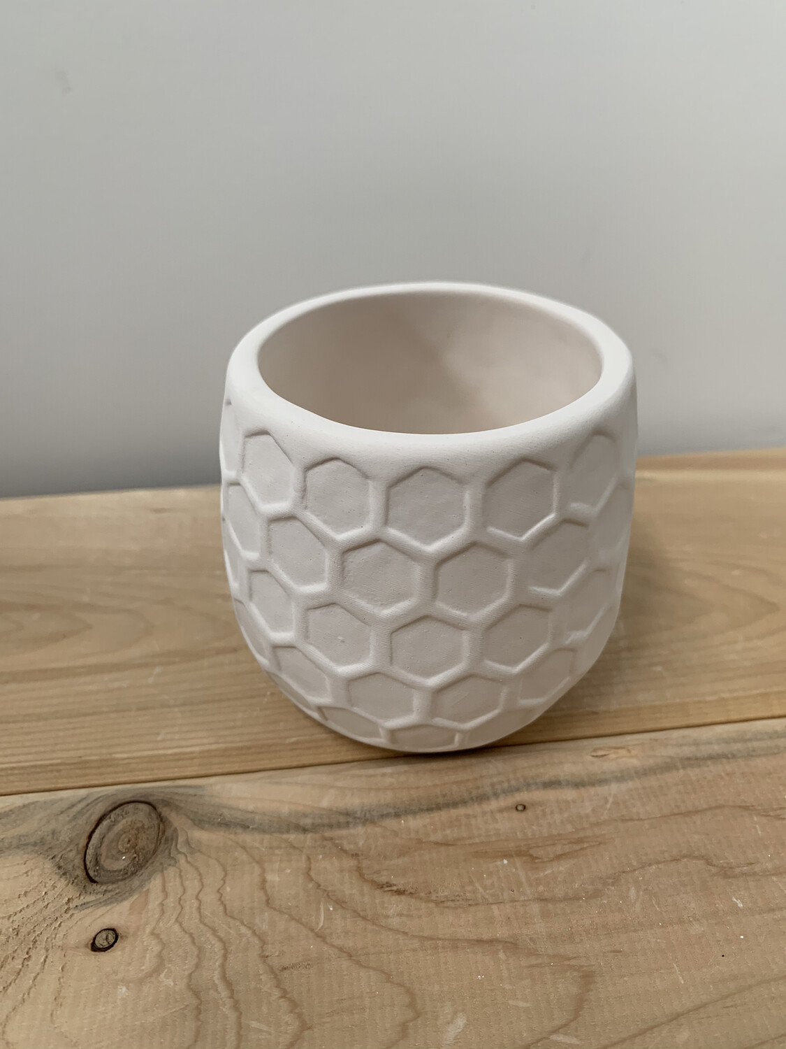 Paint Your Own Pottery - Ceramic   Honeycomb Succulent Planter Painting Kit