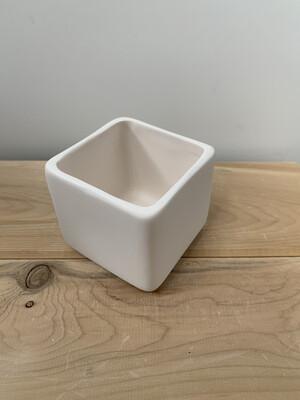 Paint Your Own Pottery - Ceramic   Square Succulent Planter Painting Kit