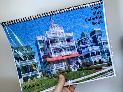 Cape May NJ Coloring Book Volume 1