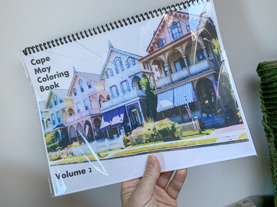 Cape May NJ Coloring Book Volume 2