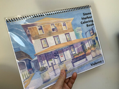 Stone Harbor NJ Coloring Book Volume 1