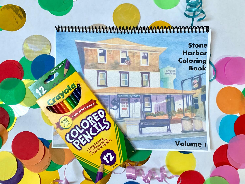 Stone Harbor NJ Coloring Book Volume 1