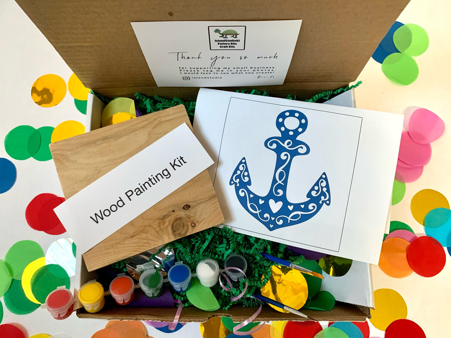 ANCHOR Paint Your Own Wood Sign Kit
