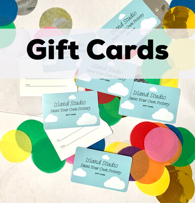 Gift cards $25 and up
