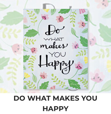 Do What Makes You Happy ADULT Acrylic Paint On Canvas DIY Art Kit