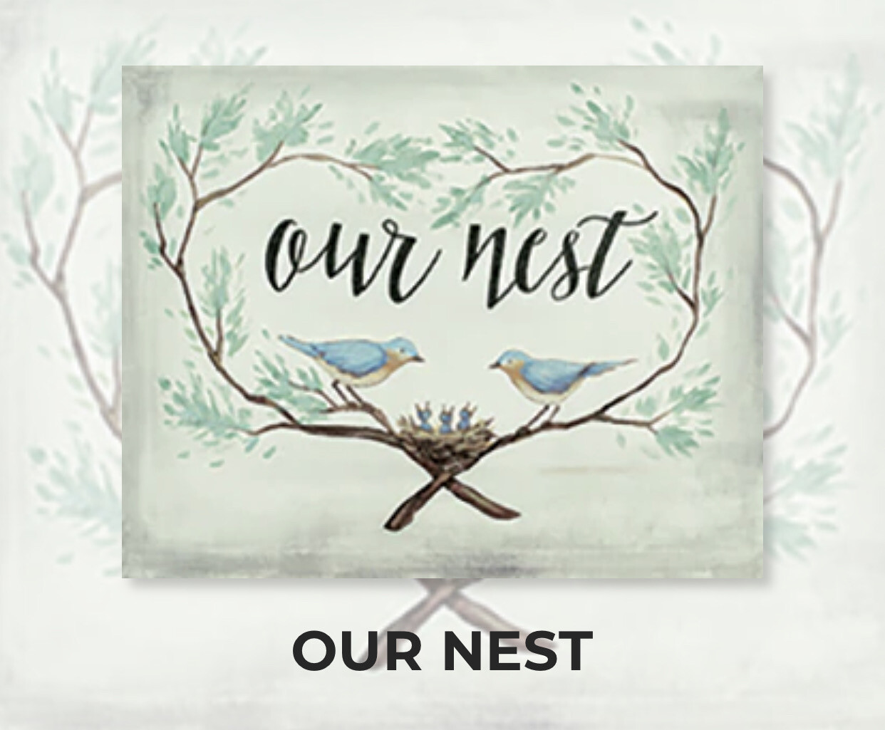 Our Nest ADULT Acrylic Paint On Canvas DIY Art Kit - 3 Week Special Order