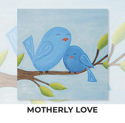 Motherly Love KIDS Acrylic Paint On Canvas DIY Art Kit